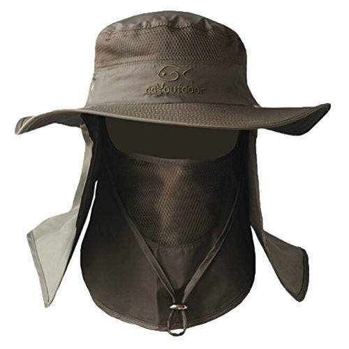 cdfdee3a38c Ddyoutdoor™ 07-281 Fashion Summer Outdoor Sun Protection Fishing Cap Neck  Face Flap Hat Wide Brim – Trails Supply