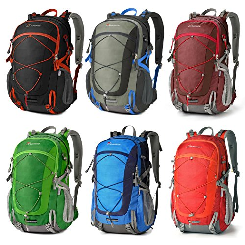 f2e3a59af4 Mountaintop 40L Water-resistant Hiking Daypack Camping Backpck ...